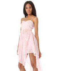 Free People Pink Summer Daze Tube Dress