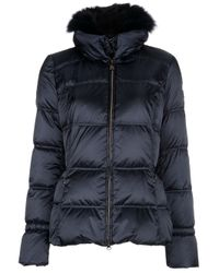 Geospirit | Blue Montrose Padded Jacket | Lyst