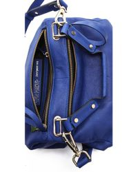 Golden Lane - Blue Small Duo Satchel - Lyst