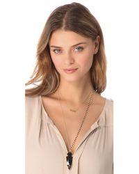 Heather Hawkins - Black Arrowhead Necklace - Lyst