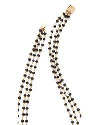 Heather Hawkins - Black Trilayer Short Necklace - Lyst