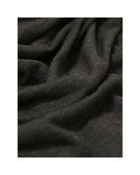 Helmut Lang Gray Kinetic Jersey Dark Heather Racer Back Cowl Neck Maxi Dress