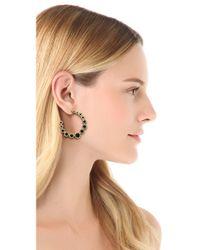 House of Harlow 1960 - Metallic Olbers Paradox Hoop Earrings - Lyst