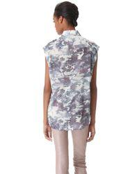 IRO Gray Brian Sleeveless Shirt