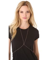 Jacquie Aiche Pink Vintage Body Chain