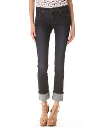 James Jeans Blue Mid Rise Wonder Straight Jeans