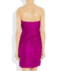 J.Crew - Purple Selma Dress in Silk Taffeta - Lyst