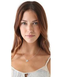 Jennifer Zeuner - White Diamond Eye Necklace - Lyst
