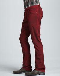 John Varvatos Bowery Jeans Red for men