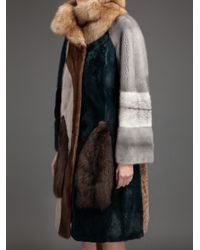 Liska - Multicolor Debbie Fur Coat - Lyst