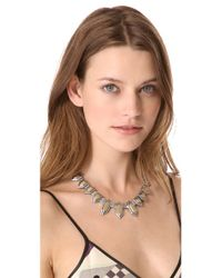 Madewell - Metallic Modern Geometry Necklace - Lyst