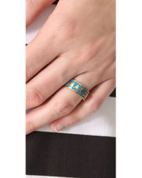Marc By Marc Jacobs - Metallic Classic Marc Dreamy Logo Ring - Lyst