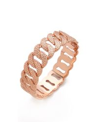 Marc By Marc Jacobs - Metallic Lizard Texture Katie Bangle - Lyst