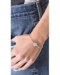 Marc By Marc Jacobs - Metallic Turnlock Skinny Bracelet - Lyst
