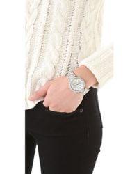 Michael Kors Metallic Parker Glitz Chronograph Watch
