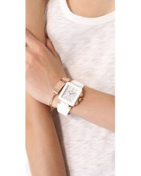 Michele Pink Park Jelly Bean Watch