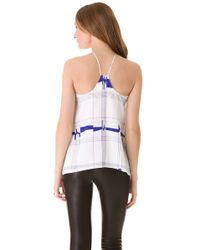 MILLY White Eclipse Tank