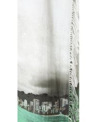Osklen | White Crestwood Fringe Wrap Skirt | Lyst