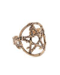 Pamela Love | Metallic Snake Pentagram Cuff | Lyst