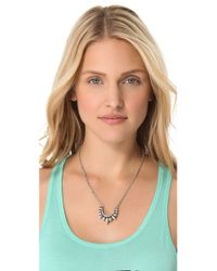 Pamela Love - Metallic Suspension Necklace - Lyst