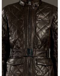 Peuterey - Brown Paradigma Quilted Jacket - Lyst