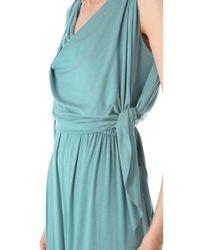 Rachel Pally Blue Birdie Maxi Dress