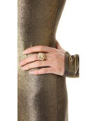 Rachel Zoe Metallic Knot Ring
