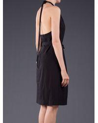 See By Chloé Black Sleeveless Halter Dress