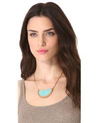 Serefina | Blue Stingray Crest Necklace | Lyst