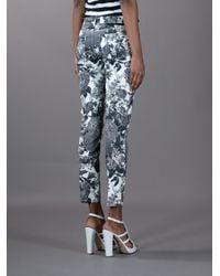 Stella McCartney | Multicolor Floral Print Skinny Jeans | Lyst