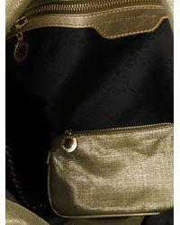 Stella McCartney Metallic Large Falabella Shoulder Bag