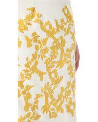 Thakoon - White Embroidered Skirt - Lyst
