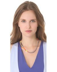 Tom Binns - Multicolor Cuckoo Pearls Necklace - Lyst