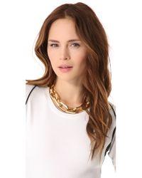 Tory Burch - Metallic Heidi Chain Necklace - Lyst