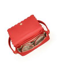 Tory Burch Red Kelsey Shoulder Bag