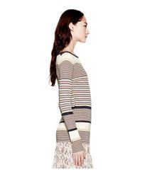 Tory Burch Brown Anita Sweater