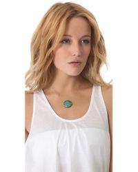 Vanessa Mooney Metallic Eye Of The Storm Necklace