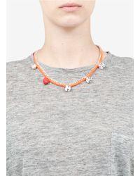 Venessa Arizaga | Orange 'love You' Necklace | Lyst