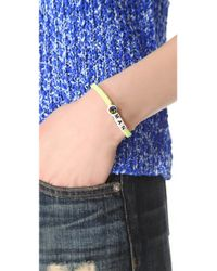 Venessa Arizaga - Yellow Peace Man Bracelet - Lyst