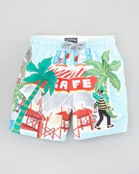 Vilebrequin Multicolor Special Edition Wheres Waldo Boys Jam Swim Trunks Sizes 814 for men