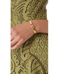 Vita Fede - Metallic Mini Omega Bracelet - Lyst