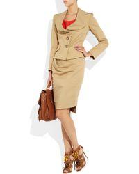 Vivienne Westwood Anglomania Natural Noble Stretchcotton Jacket