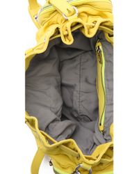 Alexander Wang Yellow Marti Backpack