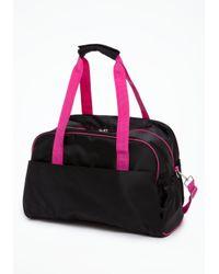 Bebe Black Nylon Gym Bag Online Exclusive