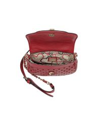 Guess Red Tulissa Mini Eco Leather Crossbody