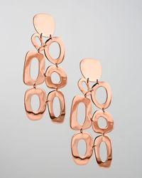 Ippolita | Metallic Rose Lite Links Chandelier Earrings Large | Lyst