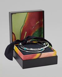 Ippolita - Metallic Turquoise Bangles Set Of Three - Lyst