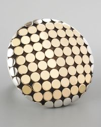 John Hardy | Metallic Mixed Metal Dot Ring | Lyst