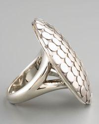 John Hardy - Metallic Silver Dot Ring for Men - Lyst