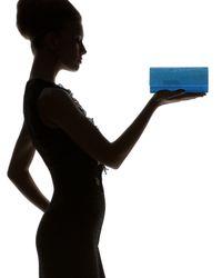 Judith Leiber   Womens Ritz Fizz Clutch Capri Blue   Lyst